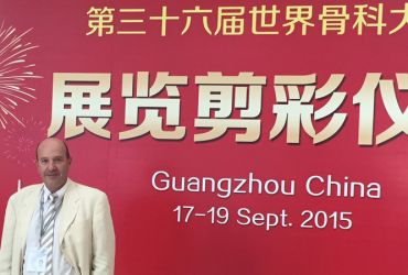 Orthopaedic world congress en Chine